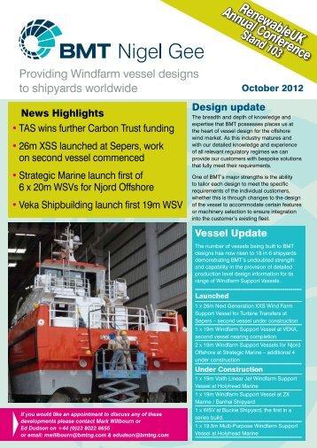 RenewableUK 2012 Newsletter
