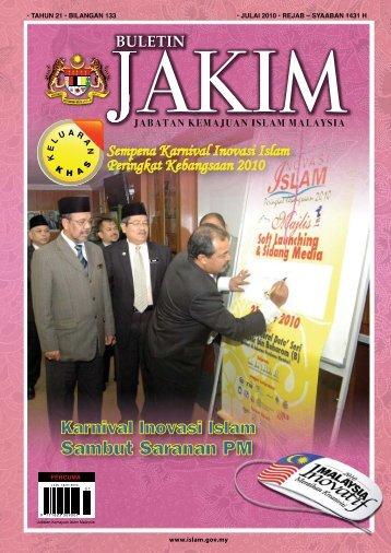 Sambut Saranan PM - Jabatan Kemajuan Islam Malaysia