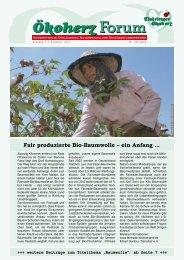 Fair produzierte Bio-Baumwolle – ein Anfang ... - Thüringer ...