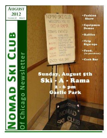August 2012 newsletter.pub - Chicago Nomads Ski Club