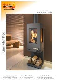 Kaminofen Pico - Feuer & Flamme Kaminöfen