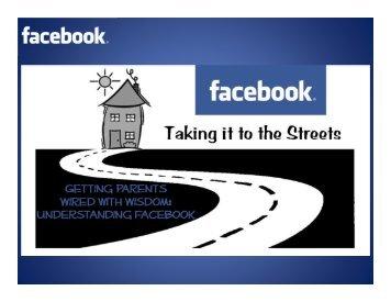Understanding Facebook: Presentation in PDF Format