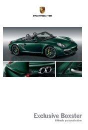 Exclusive Boxster - Porsche