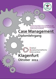 Klagenfurt Case Management - PGA