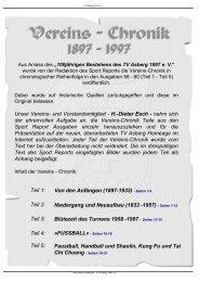 Teil 1 - TV Asberg 1897 eV
