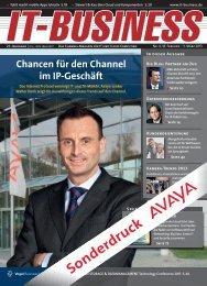 Sonderdruck - Avaya