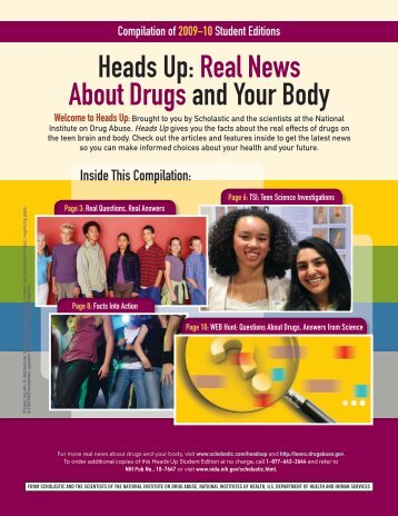 Heads Up: Real News About Drugsand Your Body - Scholastic