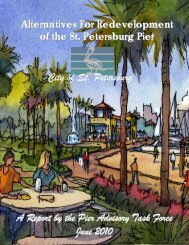 Pier Advisory Task Force Report - City of St. Petersburg