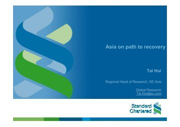 T. Hui - Standard Chartered - Clearstream