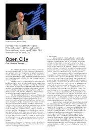Open City - IBA Hamburg