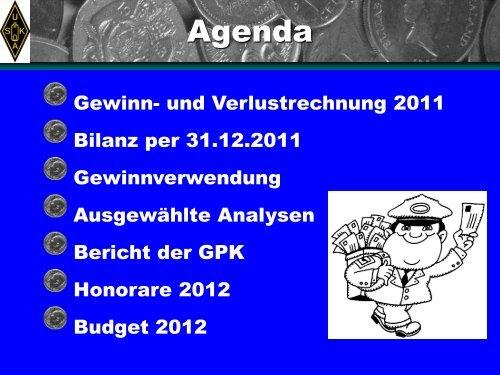 Finanzielle Berichterstattung - QSLNET.de