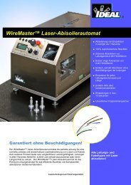 WireMaster™ Laser-Abisolierautomat