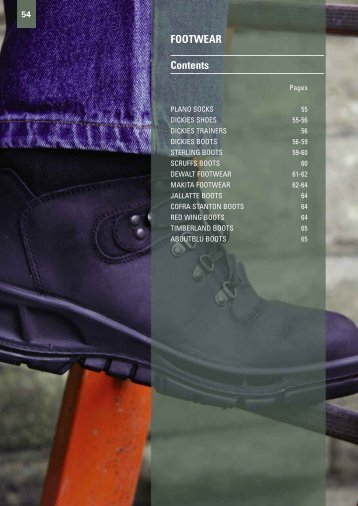 FOOTWEAR Contents - Gibb Tools