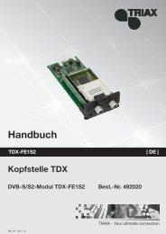 TDX Service Tool