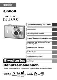Digital IXUS 55 IXUS_55_ERWEITERTES_DE.pdf - canon.de