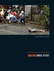 2008-2009 ANNUAL REPORT - Community Knowledge Centre
