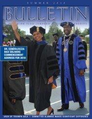 Download 2010-Summer-Bulletin.pdf - Johnson C. Smith University