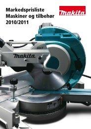 Markedsprisliste Maskiner og tilbehør 2010/2011 - Sem Bruk AS