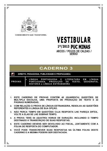 CADERNO 3 - PUC Minas