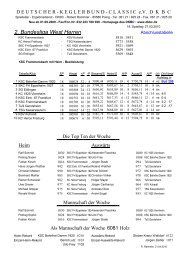Tabelle Saisonende 2009