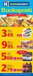 -13 % -34 % -19 % -17-23 % - K-supermarket