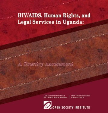 HIV/AIDS, Human Rights, & Legal Services in Uganda - Refworld