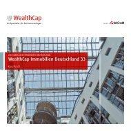 WealthCap Immobilien Deutschland 33 - AVL Finanzdienstleistung ...