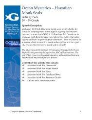 download activity guide grades 3-5 - Georgia Aquarium