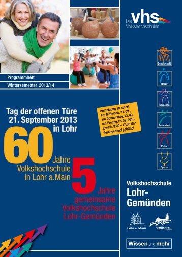 VHS Lohr-Gemünden - Lohr a. Main