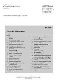 Verlust des Arbeitsplatzes - Steuerberater Waldemar Schauer