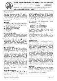 Openen - Nederlandse Vereniging van Toerzeilers