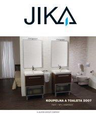 KOUPELNA A TOALETA 2007 - Jika