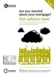 Are you worried about your mortgage? - NHAS
