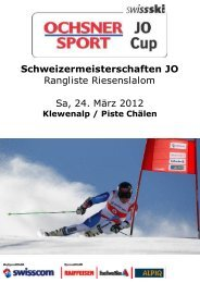 261 KB - Swiss-Ski