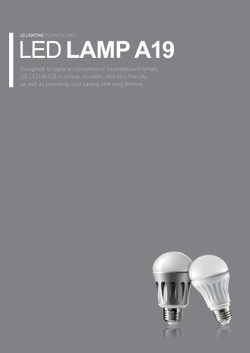 LED LAMP A19 - SOS electronic