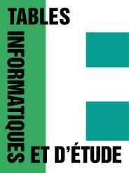 05_TABLES catalogue | FR | .pdf