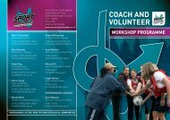 workshop - Sport Across Staffordshire
