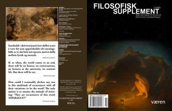 filosofisk supplement - Universitetet i Oslo