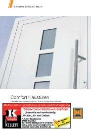 Hörmann Comfort Haustüren - Keller Bauelemente