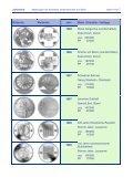 Abbildung der bisherigen Gedenkmünzen aus Silber ... - Swissmint - Seite 4