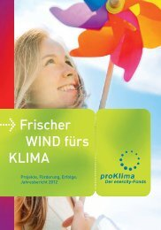 Jahresbericht 2012 - ProKlima GbR