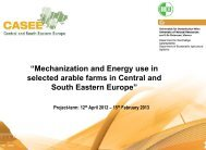 """Mechanization and Energy use in selected arable farms in Central ..."