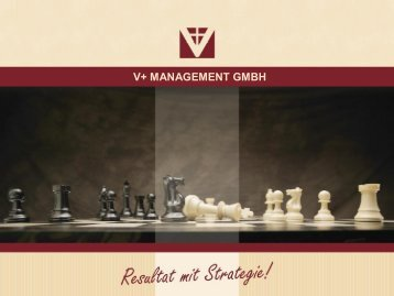 V+ MANAGEMENT GMBH