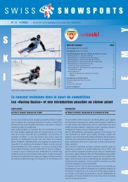 Racing Basics introduction - Swiss-Ski