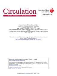 Contrast-Induced Acute Kidney Injury - Isdbweb.org