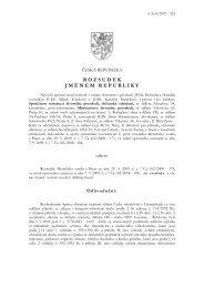 Anonymizovaná verze rozhodnutí - Nejvyšší správní soud