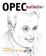 OPEC Bulletin January 2009OPEC Bulletin February 2009OPEC ...