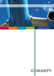 Detailed Brochurecompany Profilepdf, 6 pages - comsoft.aero