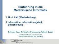 Vorlesungsfolien - Technische Universität Braunschweig