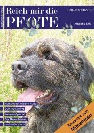 Zughundsport (Teil 2) - Reich mir die Pfote